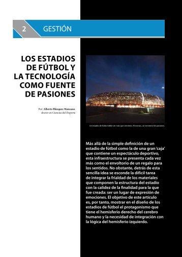 Artículo Estadios Futbol Revista Instalaciones Deportivas