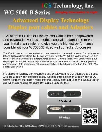 New Products - ICS Technology