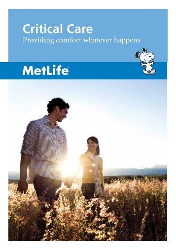 Critical Care - MetLife Alico