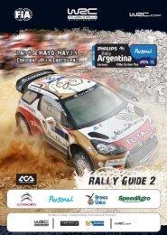 01-ingles-guia2-2013_muestras diseno pag guia ... - Rally Argentina