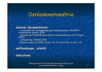 Ostéodensitométrie - ammppu