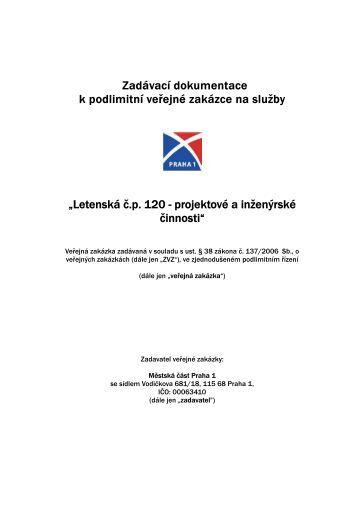 Zadavaci_dokumentace_-_Letenska_c.p._120_ ... - Praha 1
