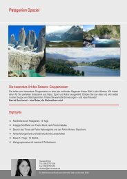 Patagonien Spezial - mavia soul travel