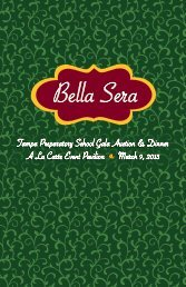 2013 Auction Catalog - Tampa Preparatory School