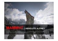 MAMMUT | ABSOLUTE ALPINE? - Branding-Institute