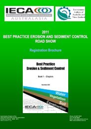 2011 BEST PRACTICE EROSION AND SEDIMENT CONTROL ...