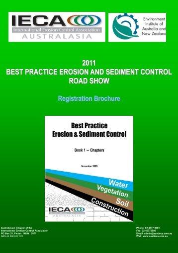 2011 BEST PRACTICE EROSION AND SEDIMENT CONTROL ...