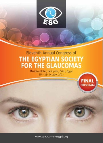 2011 - The Egyptian Society for the Glaucomas
