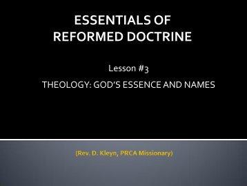 Essentials Lesson 3