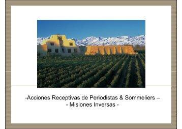 Misiones Inversas - Wines Of Argentina