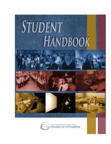 Download Student Handbook - SUNY College of Optometry