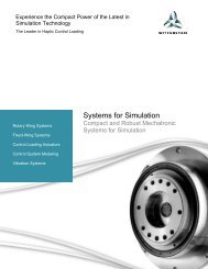 Systems for Simulation - Wittenstein