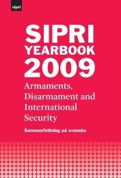 SIPRI Yearbook 2009, Sammanfattning på svenska