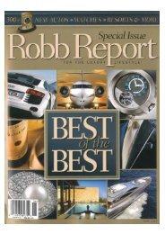 Robb Report June 2007 (Maltese .PDF - Perini Navi