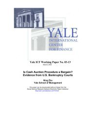 download pdf - ICF Publications - Yale University