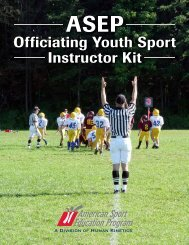 Officiating Youth Sport Instructor Kit - Louisiana Youth Sports Network