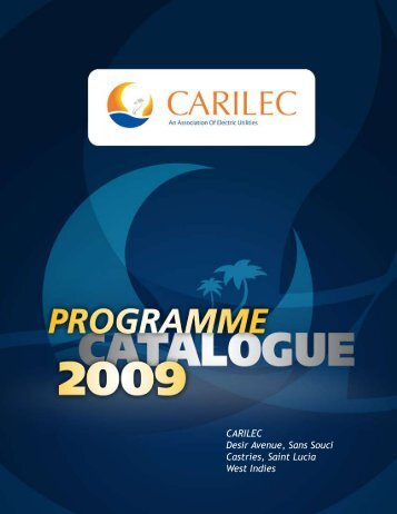 CARILEC Program Catalogue 2009