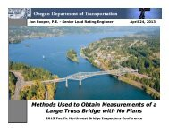 Methods Used to Obtain Measurements of a Large Truss Bridge with ...