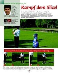 Kampf dem Slice! - Stefan Quirmbach Golfschule