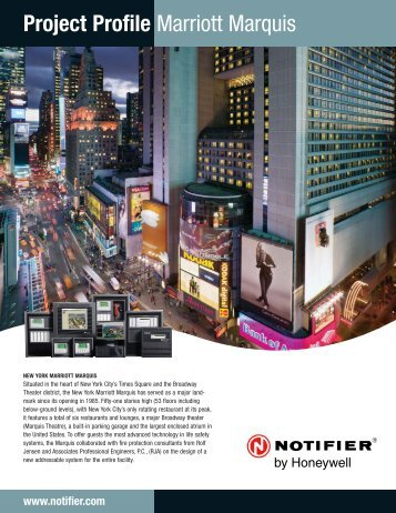 Marriott Marquis - Notifier