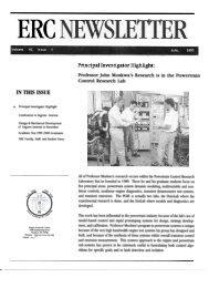 Summer 2000 Newsletter - Engine Research Center - University of ...