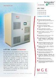 EPS 7000 EPS 7000 - Schneider Electric