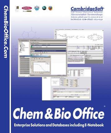 Chem&BioOffice - CambridgeSoft