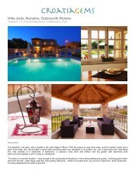Villa Julia, Konalve ,Dubrovnik Riviera - CroatiaGems