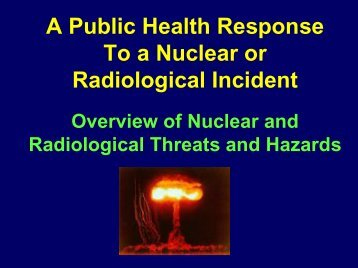 Richard Thomas - The 2012 Integrated Medical, Public Health ...