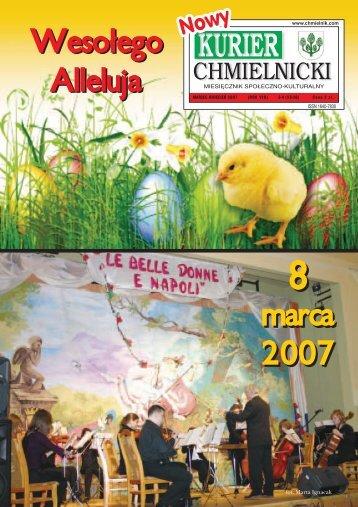 marca 2007 marca 2007 Weso³ego Alleluja Weso³ego Alleluja