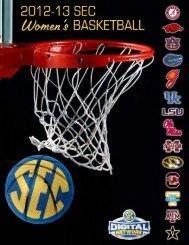 2012-13 SEC Women's Basketball Media Guide - Southeastern ...