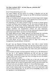 """Die Ulmer Laufnacht 2010 – auf dem Weg zum """"deutschen Biel"""""""