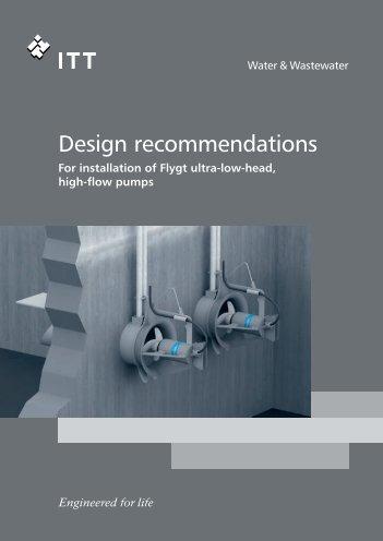 Installation dimensions - Anadolu Flygt