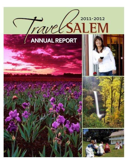 ANNUAL REPORT - Travel Salem