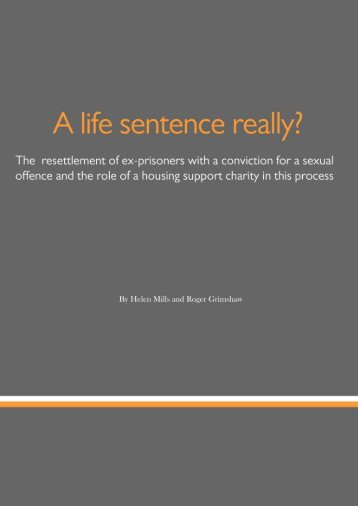 A life sentence really.pdf - Centre for Crime and Justice Studies