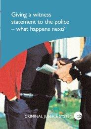 18744 CJS Witness to Crime v3 - Gov.uk