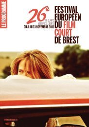 Le programme - Festival européen du film court de Brest
