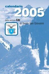 Agendina 10x15 2colori - CAI - sezione di Sesto San Giovanni