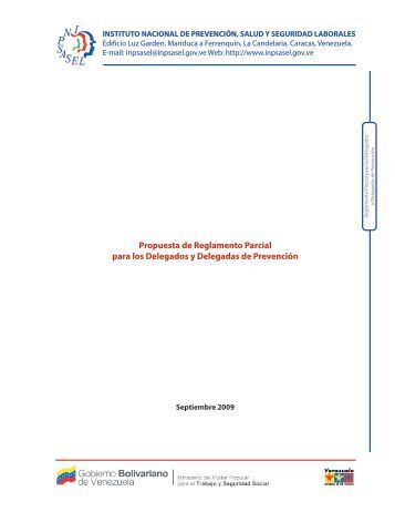 Propuesta de Reglamento Parcial para los Delegados y Delegadas ...