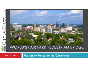Meeting Presentation 07/16/13 [PDF] - City of Knoxville