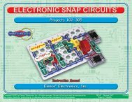 Snap Circuits Projects 102-305 - Pololu Robotics and Electronics