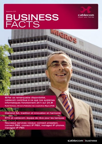 BUSINESS FACTS - Cablecom
