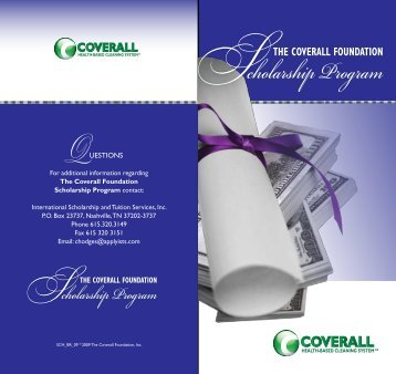 Scholarship Program - Coverall
