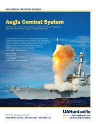 Aegis Combat System - Osher Lifelong Learning Institute at UAH ...