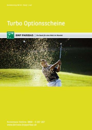 Turbo Optionsscheine - BNP Paribas