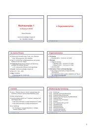 6 auf 1 - Betriebssysteme und verteilte Systeme