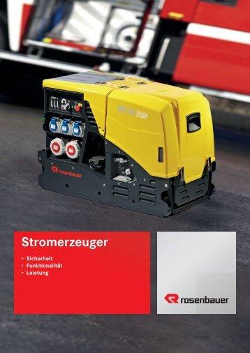 Stromerzeuger - BTL Brandschutz Technik GmbH Leipzig