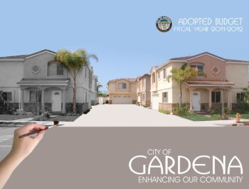 General Fund Balance - the City of Gardena