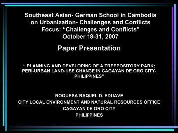 Roquesa_PLANNING AND DEVELOPING OF A TREEPOSITORY PARK PERI-URBAN ...