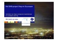 Het SKB-project Diep en Duurzaam - Soilpedia
